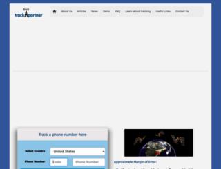 track-your-partner.com screenshot