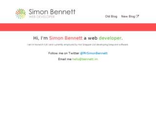 track.bennett.im screenshot