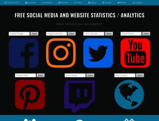 trackalytics.com screenshot