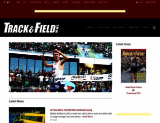trackandfieldnews.com screenshot