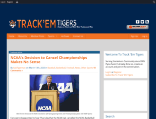 trackemtigers.com screenshot