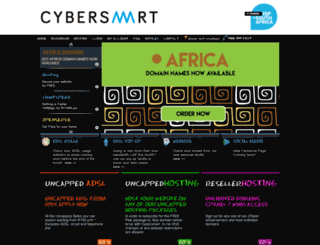 tracker.cybersmart.co.za screenshot