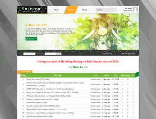 tracker.kokocon.net screenshot