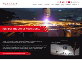 trackercnc.com screenshot