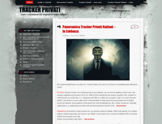 trackerprivati.wordpress.com screenshot