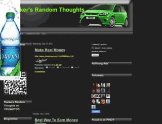 trackersrandomthoughts.blogspot.com screenshot