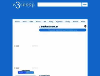 trackerx.com.ar.w3snoop.com screenshot