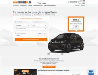 tracking.autohaus24.de screenshot
