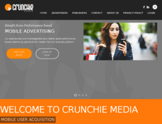 tracking.crunchiemedia.com screenshot