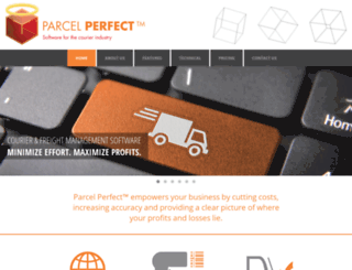 tracking.parcelperfect.com screenshot