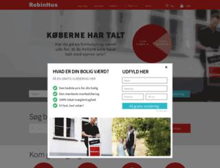 tracking.robinhus.dk screenshot