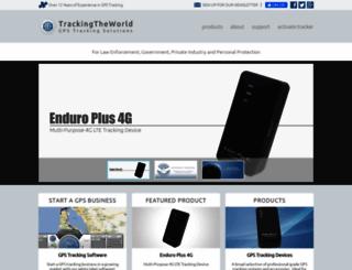 trackingtheworld.com screenshot