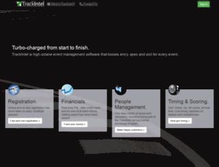 trackintel.com screenshot