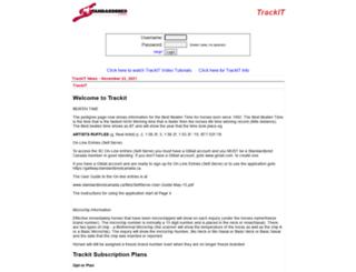 trackit.standardbredcanada.ca screenshot