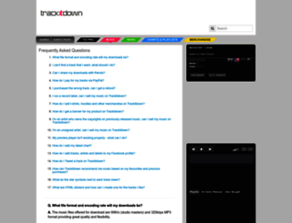 trackitdown.net screenshot