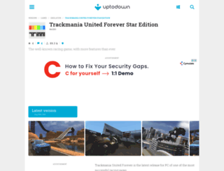 trackmania-united-forever-star-edition.en.uptodown.com screenshot