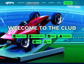 trackmania.com screenshot