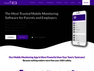 trackmyfone.com screenshot