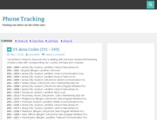 trackphonecall.xyz screenshot
