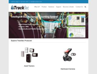 tracksec.com screenshot