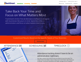 tracksmart.com screenshot