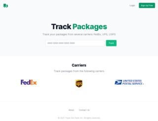 trackthepack.com screenshot