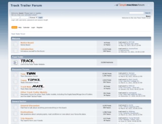 tracktrailerforums.net screenshot