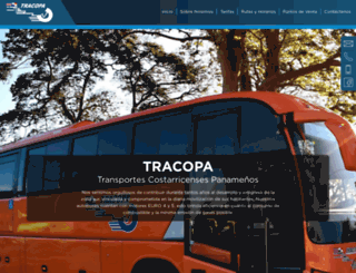 tracopacr.com screenshot