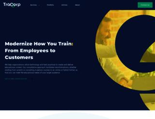 tracorp.com screenshot