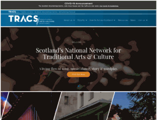 tracscotland.org screenshot