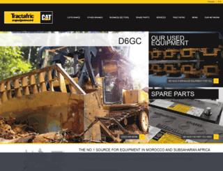 tractafric-equipment.com screenshot