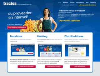 tractes.com screenshot