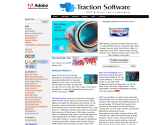 traction-software.co.uk screenshot
