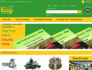 tractorspares.in screenshot