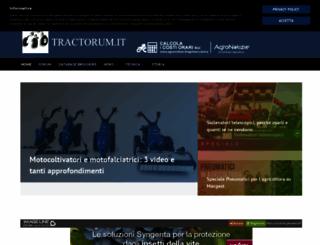 tractorum.it screenshot