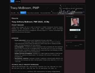tracymcbroom.com screenshot
