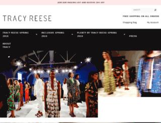 tracyreese.com screenshot
