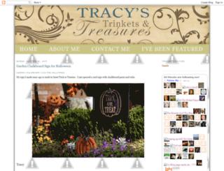 tracys-trinkets-treasures.blogspot.com screenshot