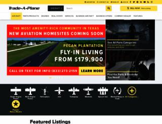trade-a-plane.com screenshot