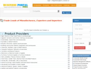 trade.businessportalindia.com screenshot