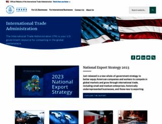 trade.gov screenshot