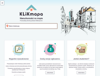 trade.klikmapa.pl screenshot