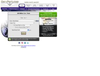 trade3494.car-part.com screenshot