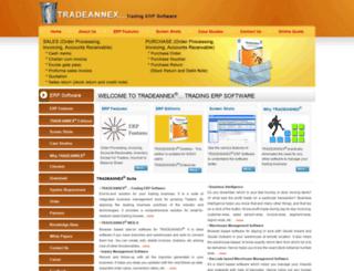 tradeannex.com screenshot