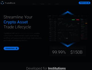 tradeblock.com screenshot