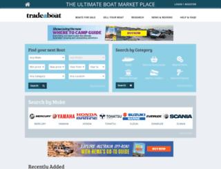 tradeboats.com.au screenshot