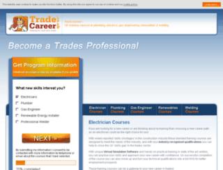 tradecareeruk.co.uk screenshot