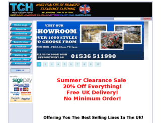 tradeclearinghouse.co.uk screenshot
