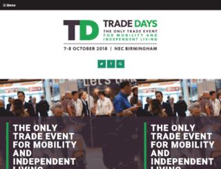 tradedays.co.uk screenshot