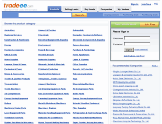 tradeee.com screenshot